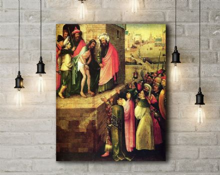 Bosch: This is Human (Ecco Homo). Mythological Fine Art Canvas.